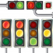 Royalty-Free Stock Vector Image: Traffic lights