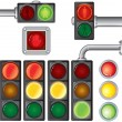 Traffic lights - Stock Vector