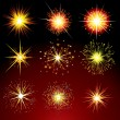 Stock Vector: Firework Petards