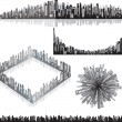 Royalty-Free Stock Vector Image: Urban panoramas