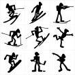 Royalty-Free Stock Vector Image: Winter Sport icons