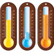 Stock Vector: Thermometers