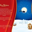 Christmassy Background - Stock Vector