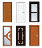 Modern Doors — Vector de stock