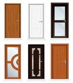 Modern Doors — Stock Vector