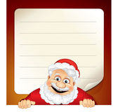 Santa List — Stock Vector