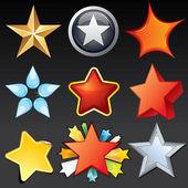 Vector Stars — Stock Vector