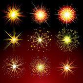 Firework Petards — Stock Vector