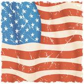 USA backdrop — Stock Vector