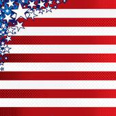 USA Theme — Stock Vector