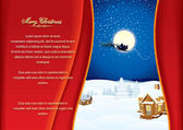 Christmassy Background — Stock Vector