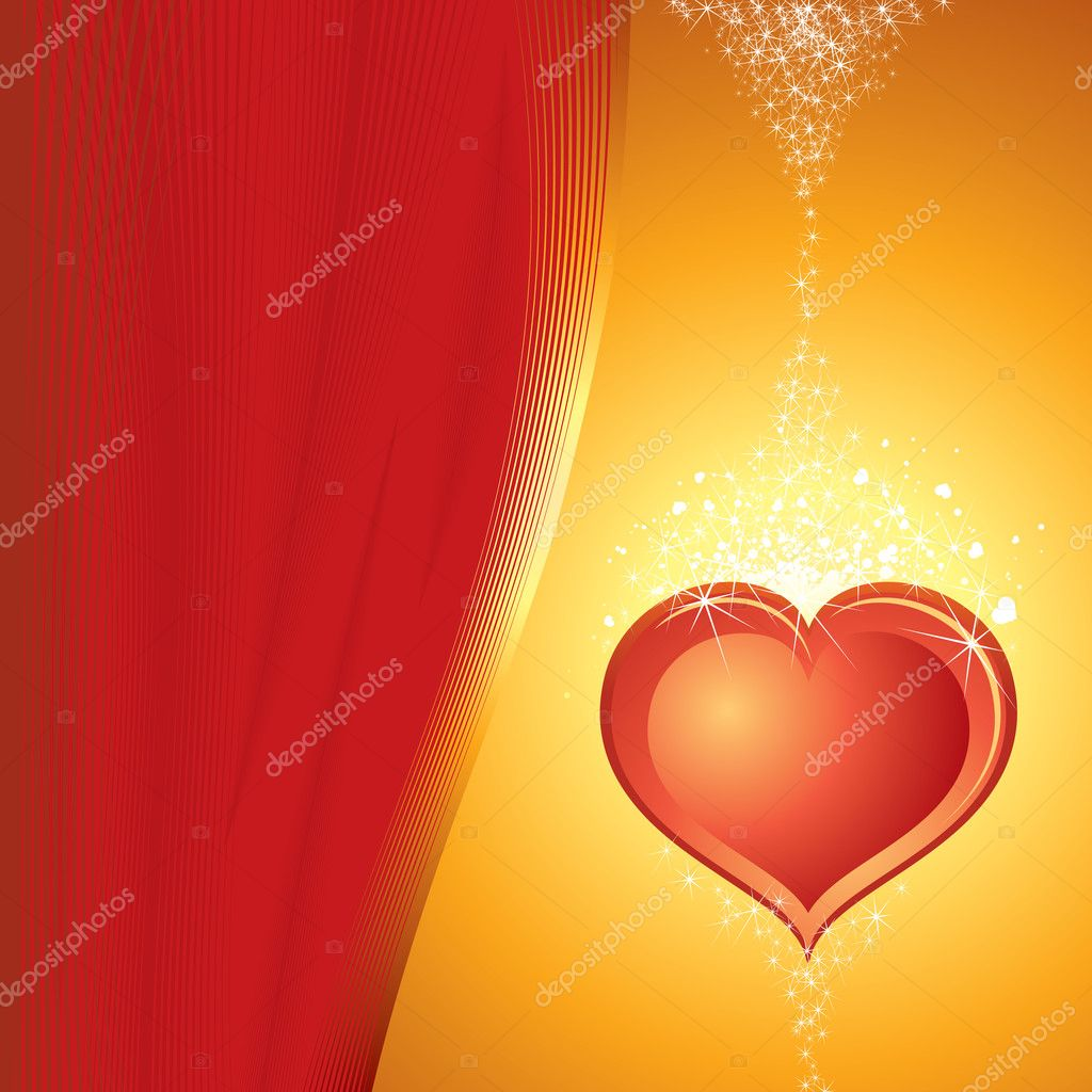 The Valentine's day vector — Stock Vector #8440232