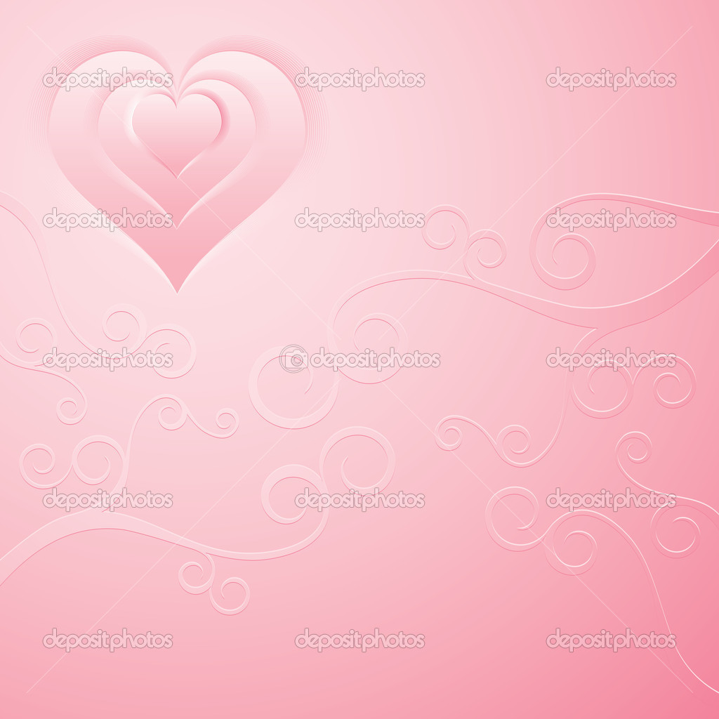 Smooth pink background  Stock Vector #8440312