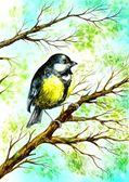 Mały ptak — Zdjęcie stockowe