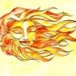 Постер, плакат: Sun on the wind