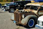 Mostrar los coches americanos — Foto de Stock