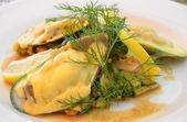 салат с морепродуктов — Stock Photo