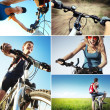 Bike set — Stock Photo
