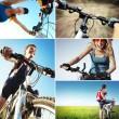 Bike set — Stock Photo