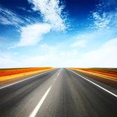 дорога — Стоковое фото