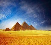 пирамиды — Стоковое фото