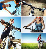Bici set — Foto Stock