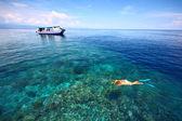 Deniz manzaralı — Stok fotoğraf