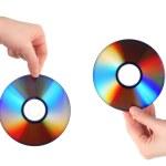 Compact discs — Stock Photo