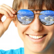 Young guy with glasses — Stock Photo #8150447