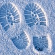 Footprint — Stock Photo #8150662