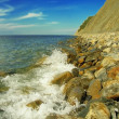 Stock Photo: Sea coastline