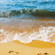 Sea and sand — Stockfoto