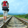 Backpacker — Stock Photo