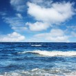 Blue sea — Stock Photo #8153012