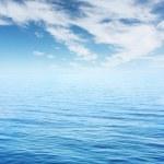 Blue sea — Stock Photo