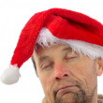 Bad santa — Stock Photo
