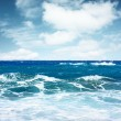 Sea with waves — Stock Photo #8155674