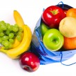 Bag with fruits — Stock Photo #8155808