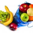 Bag with fruits — Foto de Stock