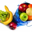 Bag with fruits — Stock Photo #8157189