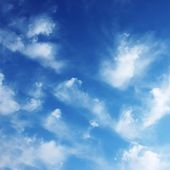 Blue sky — Stock Photo