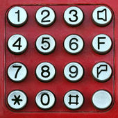 Keypad — Stock Photo