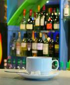 Coppa con tè — Foto Stock
