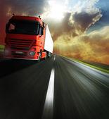 Vrachtwagen — Stockfoto