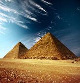Pirâmides — Foto Stock