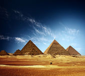 Pyramiderna — Stockfoto