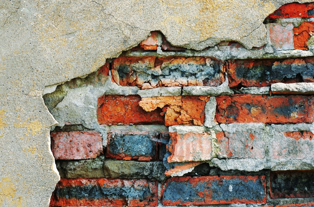 Wall with ancient bricks — Stock Photo #8151586