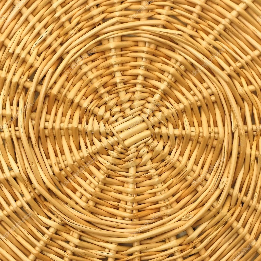 Willow basket texture  Stock Photo #8151930