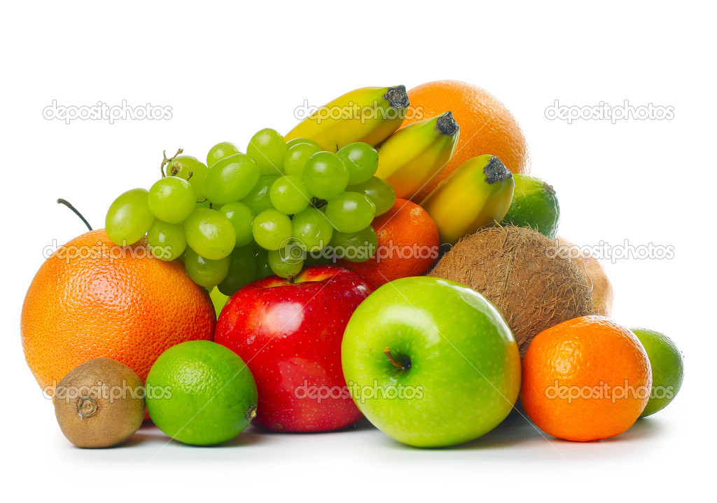 Heap of ripe tropical fruits — Stock Photo #8156139