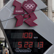One hundred days to the London 2012 Olympics — Stock Photo #10123671